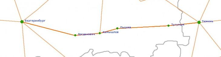 Карта-схема автодороги Р-351