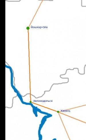 Карта-схема автодороги Р-175