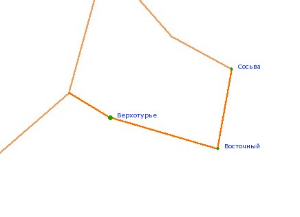 Карта-схема автодороги Р-352,